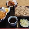 Tsukamotosobaten - 料理写真:天丼セット天丼そば大盛り