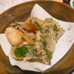 金沢の味 福梅 - 加賀野菜の天ぷら