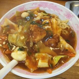 ラーメン現代 - 料理写真:肉スタミナ冷やし750円