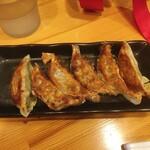 arashuekizochikkudainingu - 単品 餃子6個 360円(税込)