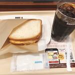 ドトールコーヒーショップ - モーニングセットB 398円♪