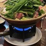 玉勝 - 鶏ちゃんこ鍋。