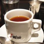 オステリア パーチェ - 食後の紅茶。ごちそうさまでした♥