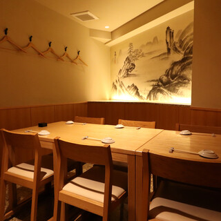 【各フロア毎に多彩なお席を完備】シーンに合わせて使える寿司処