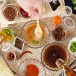 ベジしゃぶ - 料理写真:アレンジバーでお好みので召し上がれ!