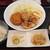 目黒のさんま 菜の花 - 料理写真:メンチ&唐揚げ定食 850円