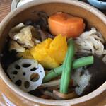 奥多摩釜めし - 料理写真: