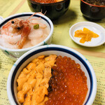きくよ食堂 - 海鮮丼の数々