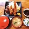 大政 - 料理写真:特上 エビ・ヒレ・ハンバーグ定食