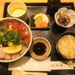 粋・丸新 - 海鮮丼(1,380円)