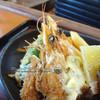 ダイニング 永遠 - 料理写真:ランチ(ステーキ・海老フライセット)