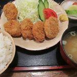 萩亭 - ヒレカツ定食 1100円