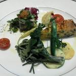 Ristorante Azekura - 前菜の盛り合わせ