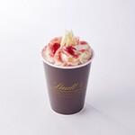 リンツ ショコラ カフェ - 「リンツ ホットチョコレートドリンク ストロベリー」
