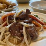 金寶來 - 牛肉ともやし炒め