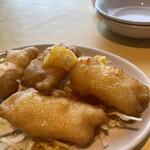 金寶來 - 白身魚のオレンジソース