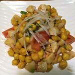 タンドリー - 料理写真:アルーチャナサラダ