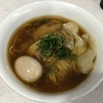 ラーメン星印 - 特製醤油らぁ麺(1100円)