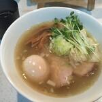 ラーメン星印 - 2015年2月の特製塩らぁ麺