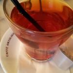 CAFFE ANTOLOGIA - アイスティー