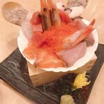 魚や一丁 - 限定一丁枡盛り宝箱980円
