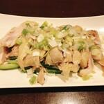 豫園 - 料理写真:蒸し鶏紹興酒風味