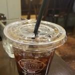 フレッシュネスバーガー - ICEブレンドコーヒー(S)(280円)