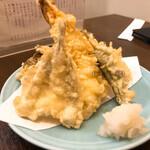 越後屋 - 天ぷら盛り合わせ 1,150円