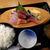 路地裏酒場 王道 - 料理写真:「刺身定食」700円