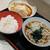 名代 富士そば - 料理写真:週替定食 580円