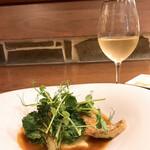 サカナザ・マエダ - 真鯛のポワレ♪ 相変わらず肉料理よりも魚料理に惹かれるなにくろですヽ( ・∀・)ノ