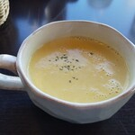 ペコリーノ - コーンスープ