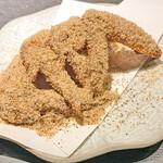 特製!奥三河鶏使用 名古屋手羽先 一本264円