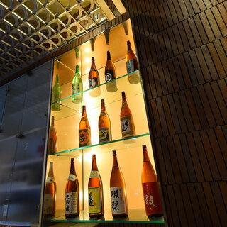 金沢の地酒をとことん堪能。お好みの一杯を召し上がれ♪