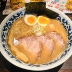 九段 斑鳩 - 特製濃厚らー麺(1,000円)