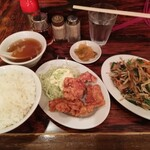開々亭 - A定食¥680