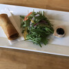 まかないや - 料理写真:ミニコース:小前菜・サラダ・春巻
