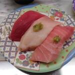 市場 いちばん寿司 - マグロ3貫