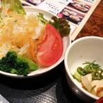 京ホルモン蔵 - サラダ&漬物