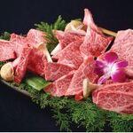 松阪牛焼肉 M - 【松阪牛6種贅沢盛り】赤身から霜降りまでご賞味いただけます