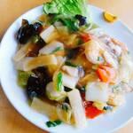英華飯店 - 料理写真:柔らか麺のあんかけ焼きそば