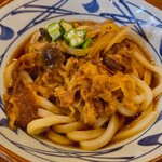 丸亀製麺 - 牛肉盛りうどん