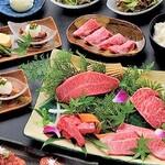 松阪牛焼肉 M - 【各種コース料理】¥3,800~