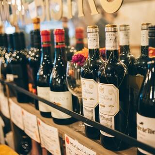 【ワイン】150種BYOシステムを!持ち込みは1本999円!