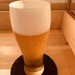 旬采遊膳 あつみ - 生ビール