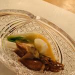 旬采遊膳 あつみ - ホタルイカとうど、うるいの酢味噌