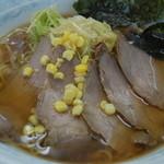 果林 - 料理写真:ラーメン+叉焼+ネギ=850円