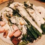 炭焼き とりこ - ロメインレタスのシーザーサラダ