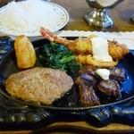 レストラン くるる - ミックスグリルセット