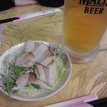 和興楼 - お酒セッと 1/3(680円)